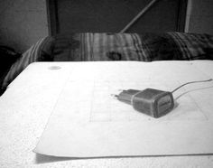 3D Drawing by me CHARGER from observation..