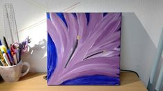 Lily... flower. I painted this picture when i was relaxing...  Art flowers abstract