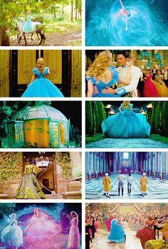 """h a v e c o u r a g e , a n d b e k i n d."" #cinderella"