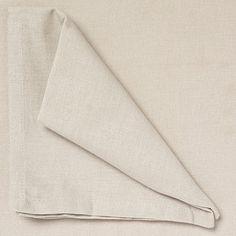 Debenhams Set of four taupe cotton napkins- at Debenhams.com