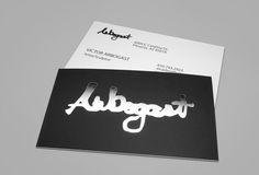 Arbogast Silver Foil Business Cards