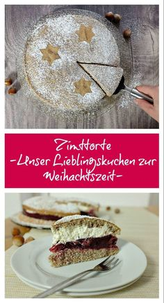 Zimttorte – so köstlich – Schnelle Rezepte aus meiner Küche This cinnamon cake is a family classic: you can find it on our coffee table every year during Christmas and winter. It looks great, but is really easy to prepare. Quick Recipes, Quick Easy Meals, Sweet Recipes, Cake Recipes, Dessert Recipes, Cinnamon Pie, German Cake, Cake & Co, Food Cakes