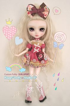 Custom Pullip : [LOLLIPOP] | Flickr - Photo Sharing!