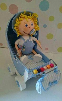 Fofucho bebé con carro