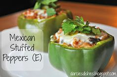 Darcie's Dishes: Mexican Stuffed Peppers (E)