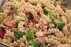 festive pasta salad (low carb)