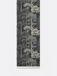 With her usual stunning richness in detail, the British illustrator Katie Scott has created three designs of wallpaper for ferm LIVING. Ferm Living Wallpaper, Wallpaper Display, Tree Wallpaper, Nature Wallpaper, Katie Scott, New York Times, Azuma Makoto, Studio Apartment Layout, Plant Box