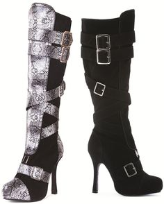 8d6bb323d28b Microfiber Knee High Boot w 4