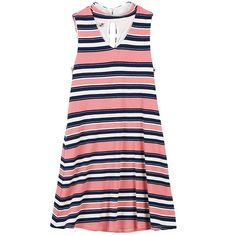 Girls 7-16 Speechless Ribbed Striped Knit Shift Dress, Girl's, Size: 14, Pink Ovrfl