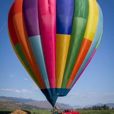 Hot air ballooning over the Methow Valley, WA