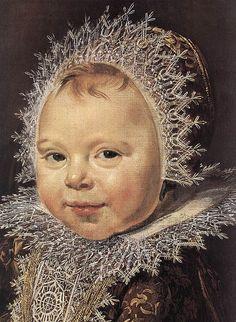 Frans Hals, Nurse and Child, detail