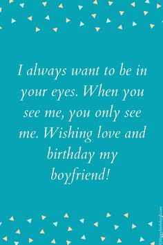 When your boyfriend is at distant, these wishes and messages make your love more strong for him and you. Send these. Beautiful Birthday Wishes, Happy Birthday Fun, Birthday Wishes For Boyfriend, Long Distance Boyfriend, Grief, You And I, Messages, Love, Quotes