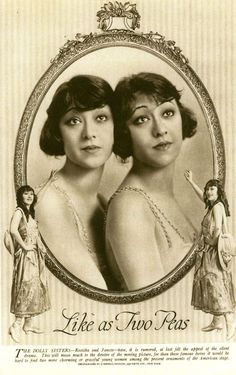 The Dolly Sisters - they first appeared in 1915 in separate silent ...
