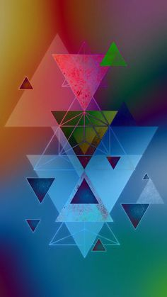 Phone Backgrounds Iphone Wallpapers Cellphone Wallpaper Rainbow Colors Geometric Fashion Wallpapers