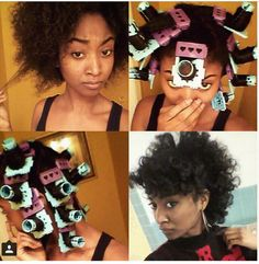 Check out a new way to STRETCH your hair without direct heat .... @cwk_girls .... SSS Plates ....www.cwkgirls.com