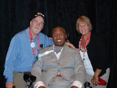 Dave and Debbie Ihde met with O.J. Brigance at the 2013 Advocacy Day in Washington.    www.alsphiladelphia.org