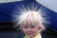 Static! #baby #funny www.BlueRainbowDesign.com