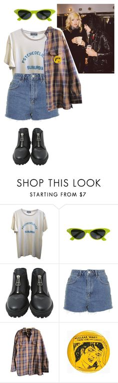 """Untitled #1199"" by adolescentdazecraze ❤ liked on Polyvore featuring Wildfox, Balenciaga, Topshop and Timberland"