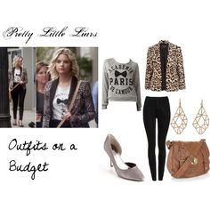 """""""Outfits on a Budget- PLL Hanna Marin"""" by oliviairene14 on Polyvore"""