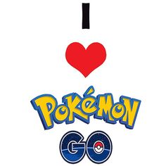 """""""I love Pokemon Go"""" shirt"""