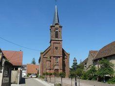 Mittelbergheim église saint étienne catholique
