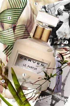 According to designer Guillaume Henry, Carven Le Parfum began with a question: Parfum Chic, Boutique Parfum, Parfum Paris, Cologne, Antique Perfume Bottles, Beautiful Perfume, Carven, Skin Makeup, Beauty Makeup
