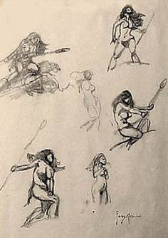 A Burning Designer: Frank Frazetta (Part 4)