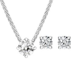 18ct White Gold Diamond Two Piece Gift Set, BLC-220 At C W Sellors, we have an expert team of diamond specialists who handpick and grade each jewel to meet our high standards and a team oftalented in house designers who combine their talents tobring you our exclusive Diamond collection. Chosen for their rare white quality, eachdiamond we use has a minimum clarity of VS and minimum colour of G-H. This beautiful gift set comprises: Pendant: Diamond Round Brilliant 0.50cts, sold complete… Jewelry Gifts, Jewellery, Christmas Gift Sets, High Standards, Rose Gold Jewelry, Jewelry Packaging, White Gold Diamonds, Natural Gemstones, Clarity