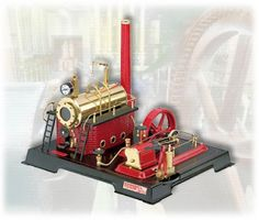 New Wilesco M 61 Forge Shop Accessories For Steam Engines Enthusiastic Au-special
