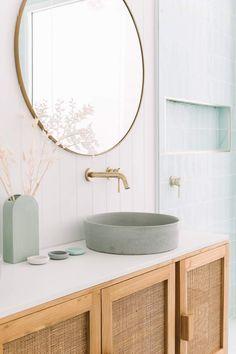 Beach House Bathroom, Laundry In Bathroom, Dream Bathrooms, Beautiful Bathrooms, Small Bathroom, Washroom, Bathroom Tapware, Bathroom Renos, Bathroom Design Inspiration