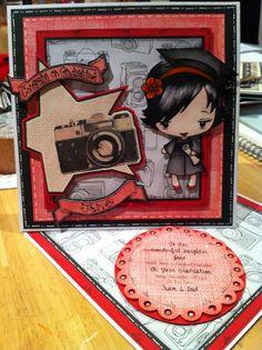 Handmade card by Gail Wolfe