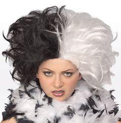 101 Dalmations - Cruella Deville-Ms. Spot Wig