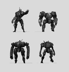 The Pictomancer: Robot Sketches by André Brown Mealha