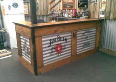 Bar Bouwen Thuis : Bouwtekening en voorbeelden om zelf een bar van steigerhout te