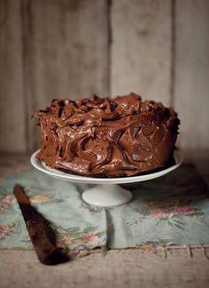 Chocolate Fudge Cake... Katie Quinn Davies