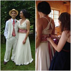 Style Story: Ona + The Handmade Wedding Dress