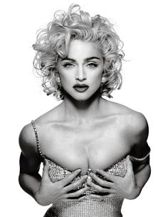 ❥ Madonna by Patrick Demarchelier. Whether you love her or hate her, she's one of us.
