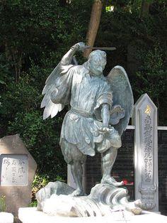 Statue of Tengu on Mt. Takao, Japan