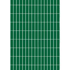 Marimekko Tiiliskivi Green Fabric
