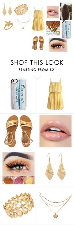 """""""Senses + Other Tag"""" by ocean-goddess ❤ liked on Polyvore featuring Casetify, Chicwish, Billabong, INC International Concepts and Valentino"""