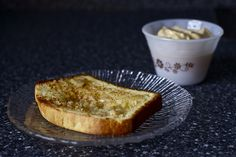 toasted, honey buttered, lunn bread  by smitten, via Flickr