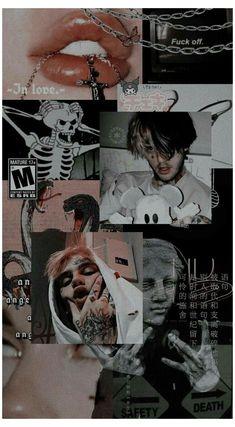 Goth Wallpaper, Cute Tumblr Wallpaper, Bad Girl Wallpaper, Dark Wallpaper Iphone, Trippy Wallpaper, Cartoon Wallpaper, Cute Wallpapers, Black Aesthetic Wallpaper, Iphone Wallpaper Tumblr Aesthetic