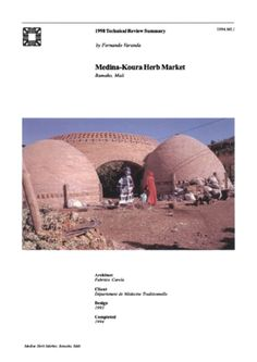 Medine Herb Market On-site Review Report | Archnet