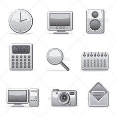 Applications Icon set