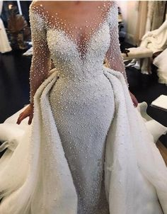 Elegant Wedding Gowns, Luxury Wedding Dress, Long Wedding Dresses, Cheap Wedding Dress, Boho Wedding Dress, Bridal Dresses, Elegant Gown, Wedding Dresses Detachable Skirt, Lace Wedding