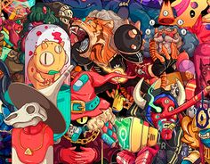 30 Days / 30 Characters #behance #design