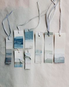 DIY Price Tags for Indie Crafters One great way to improve your craft fair presentation is to make your own price tags! Brittany from Pop Shop America rounded up a lovely collection of price tags that you can DIY. She says: Price t… Creative Bookmarks, Diy Bookmarks, Bookmark Craft, Watercolor Bookmarks, Watercolor Art, Art Graphique, Craft Business, Craft Fairs, Gift Tags
