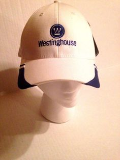 Westinghouse White Hat Flexfit Blue New NWT sz S M  1b9e0d04ad1a