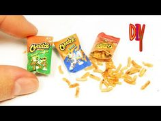 DIY Miniature Cheetos Chips - YouTube