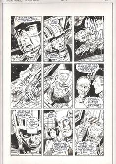 Star Wars A New Hope Special Edition Adaptation #4 pg. 13 by Eduardo Barreto, Al Williamson & Carlos Garzon (Dark Horse 1997) Comic Art